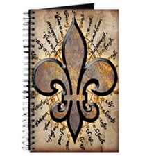 Map Fleur De Lis Journal