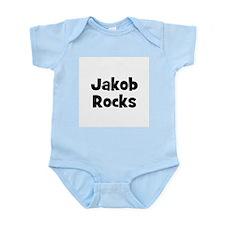 Jakob Rocks Infant Creeper