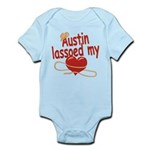 Austin Lassoed My Heart Infant Bodysuit