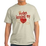 Ayden Lassoed My Heart Light T-Shirt