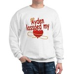 Ayden Lassoed My Heart Sweatshirt