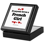 Everyone loves a French Girl - Keepsake Box