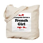 Everyone loves a French Girl -  Tote Bag