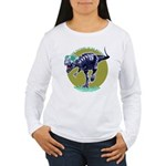T-Rex Shades Women's Long Sleeve T-Shirt