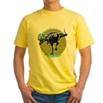 T-Rex Shades Yellow T-Shirt