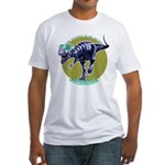 T-Rex Shades Fitted T-Shirt