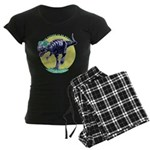 T-Rex Shades Women's Dark Pajamas