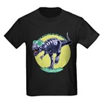 T-Rex Shades Kids Dark T-Shirt