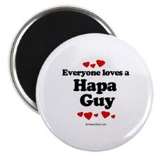 "Everyone loves a Hapa Guy - 2.25"" Magnet (100 pac"