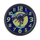 T-Rex Shades Large Wall Clock