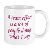 Team Effort Definition Mug