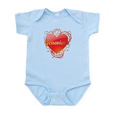 Genevieve Valentines Infant Bodysuit