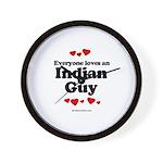 Everyone loves an Indian Guy -  Wall Clock