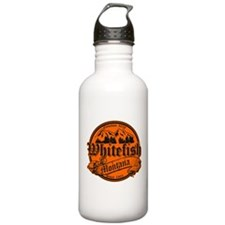 Whitefish Old Orange Water Bottle