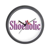 I'm A Shoeholic Home Items Wall Clock