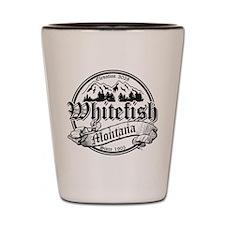 Whitefish Old Black Shot Glass