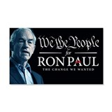 Ron Paul 2012 22x14 Wall Peel