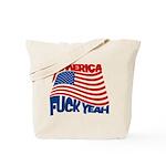 america fuck yeah Tote Bag