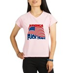 america fuck yeah Performance Dry T-Shirt