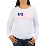 American flag Women's Long Sleeve T-Shirt