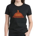Walking on Sunshine Women's Dark T-Shirt