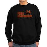 Free mammograms Sweatshirt (dark)