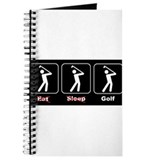 Eat Sleep Golf Journal