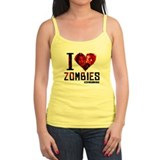 I heart Zombies Tank Top