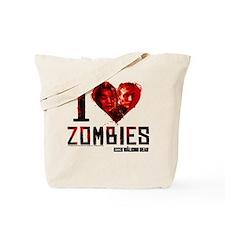 I heart Zombies Tote Bag