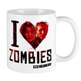 I heart Zombies Small Mug