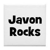Javon Rocks Tile Coaster