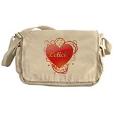 Leticia Valentines Messenger Bag