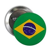 Brazil World Flag Badge / Button