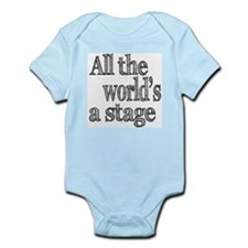 All the World's a Stage Infant Bodysuit