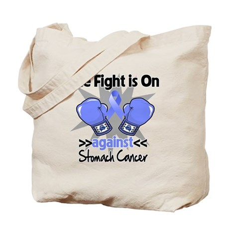 Fight is On Stomach Cancer Tote Bag