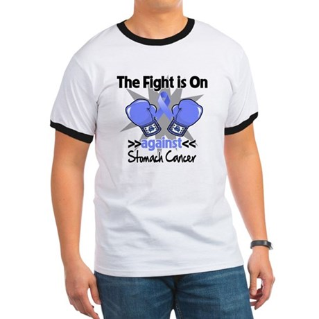 Fight is On Stomach Cancer Ringer T