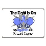 Fight is On Stomach Cancer Banner