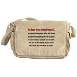 Registered Nurse IV Messenger Bag