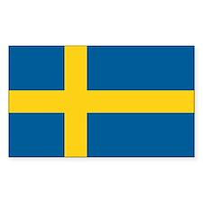 Sweden World Flag Bumper Stickers