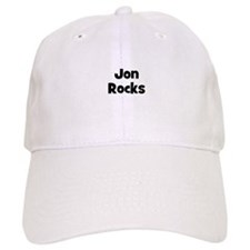Jon Rocks Baseball Cap