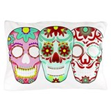 Sugar Skulls Pillow Case