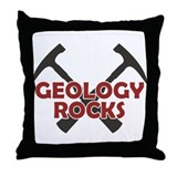 Geology Rocks Throw Pillow