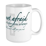 Be Not Afraid - Religious Mug
