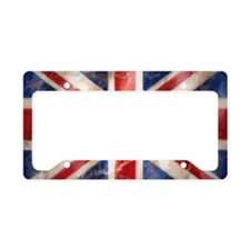 Cool Union jack License Plate Holder
