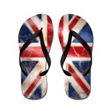 Cute British flag Flip Flops