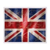 Cool Britain Throw Blanket