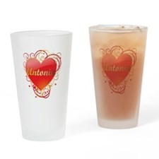 Antonia Valentines Drinking Glass