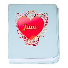 Jana Valentines baby blanket