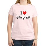I Heart 6th Grade T-Shirt