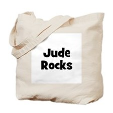 Jude Rocks Tote Bag